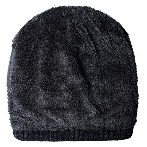 6778dd103e4 Loritta Mens Winter Warm Knitting Hats Wool Baggy Slouchy Beanie Hat Skull  Cap