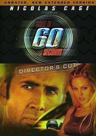 Amazon com: Gone in 60 Seconds (Director's Cut): Nicolas