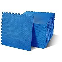 BalanceFrom Puzzle Exercise Mat with High Quality EVA Foam Interlocking Tiles