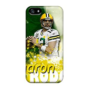 Tpu StellaWKeller Shockproof Scratcheproof Aaron Rodgers Hard Case Cover For Iphone 5/5s