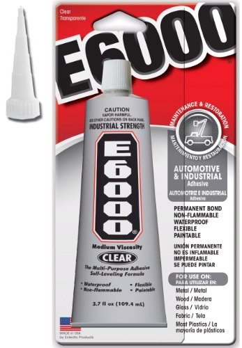 E-6000 3.7oz Tube with Applicator Tip