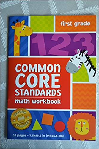 Amazon.com: Common Core Standards First Grade Math Workbook: The ...