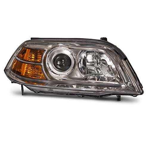 Headlights Depot Replacement for Acura MDX Headlight Oe Style Headlamp Right Passenger Side