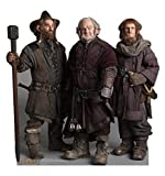 The Dwarfs: Nori, Dori, Ori - The Hobbit - Advanced Graphics Life Size Cardboard Standup