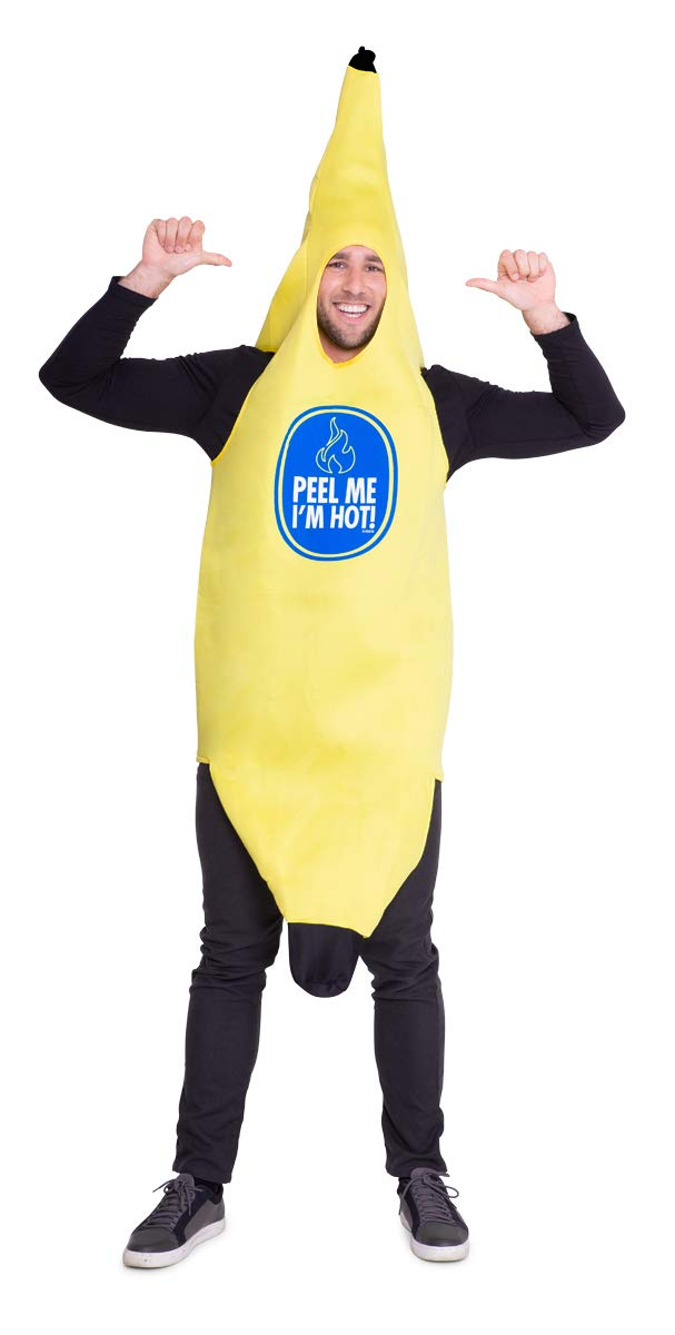 Folat - Disfraz para adulto con motivo de plátano (21950): Amazon ...