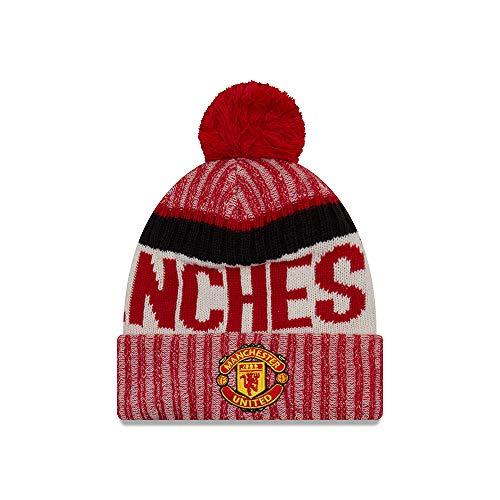 (New Era Manchester United On-Field Sport Pom Knit Hat/Cap )