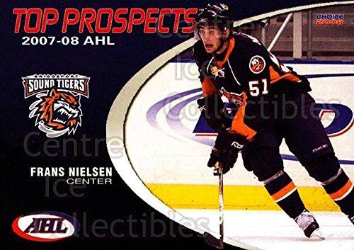 ((CI) Frans Nielsen Hockey Card 2007-08 AHL Top Prospects 4 Frans Nielsen)