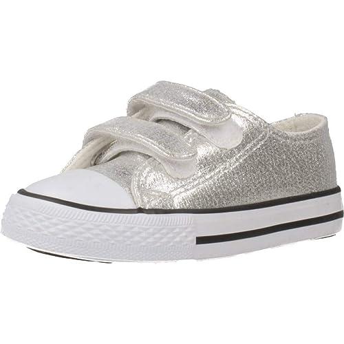 Zapatillas para niño, Color Plateado, Marca CONGUITOS, Modelo Zapatillas para Niño CONGUITOS JVS14120 Plateado: Amazon.es: Zapatos y complementos