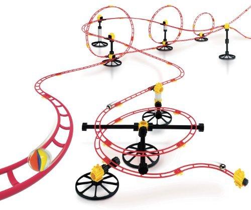 Quercetti Skyrail Marble Run Roller Coaster 250-pc. Set Children, Kids, Game