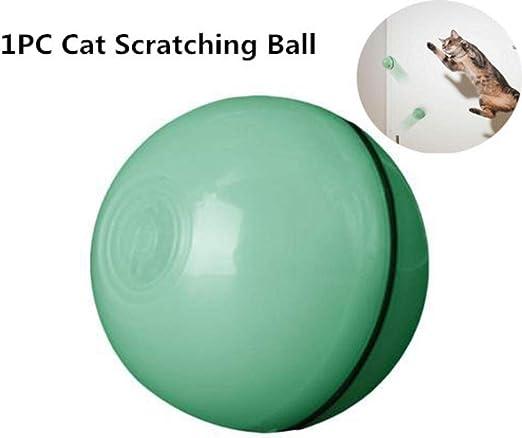 Juguete interactivo para gatos, divertido balón de 360 grados con ...