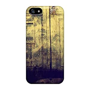 KgL39243iYsZ Awesome Cases Covers Compatible With Iphone 5/5s - Old Locked Doorway
