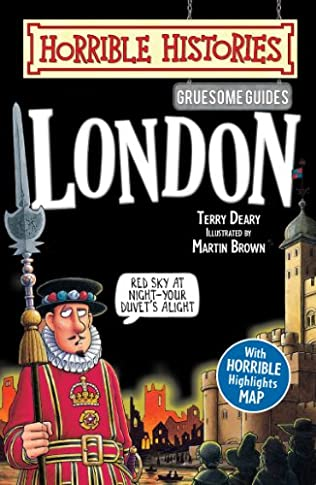 book cover of Horrible Histories Gruesome Guides: London