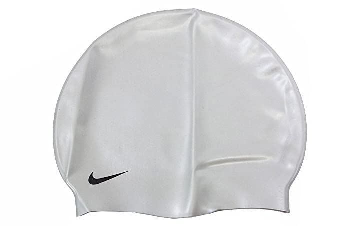 ffa4a138526 Amazon.com  Nike Solid Silicone Swim Cap (One Size Fits Most ...