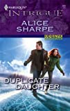Duplicate Daughter, Alice Sharpe, 0373229291