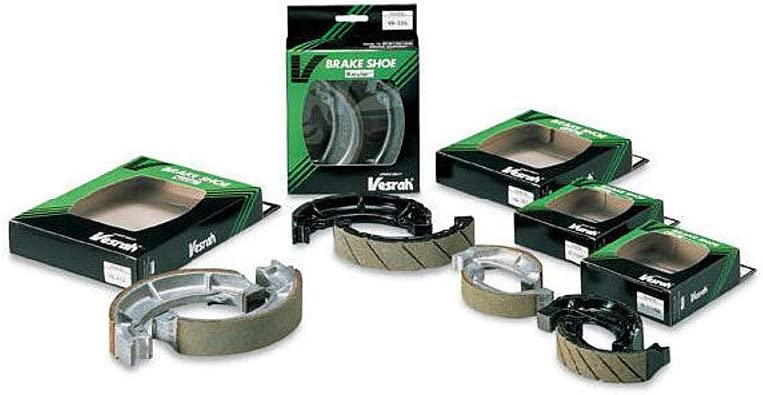 for 80-83 Yamaha XJ650 Vesrah Racing Semi-Metallic Brake Shoes Rear