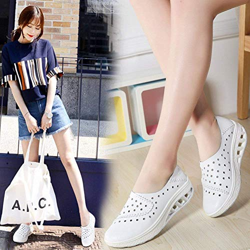 Fuxitoggo All 42Blanc Leather Chaussures match TendanceTroucoloréNoirTaille All Shoes Wear VSUzMp