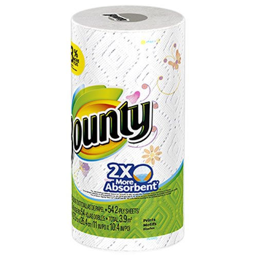 Bounty Paper Towels, Prints, 1 Big Rolls, 54 2-Ply Sheets (Pack of 24) by Bounty (Image #3)