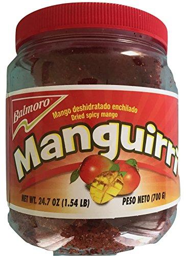 Balmoro Manguirri Mango Deshidratado Enchilado Dried Spicy Mango, 1.54 lb