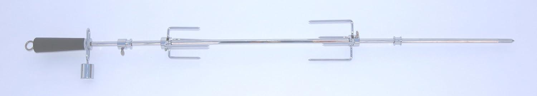 I&O BBQ ® Grill Drehspieß / Rotisserie 90 cm mit 220 V Motor