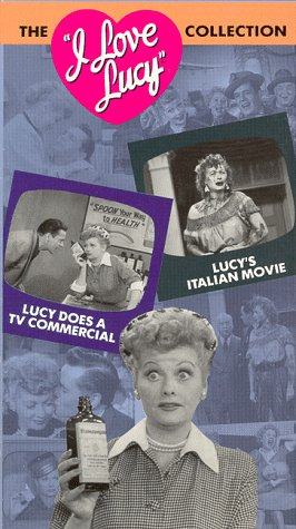 The I Love Lucy Collection, Vol. 1: Lucy Does a TV Commercial / Lucy's Italian Movie [VHS]