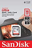SanDisk Ultra 16GB Class 10 SDHC UHS-I Memory Card