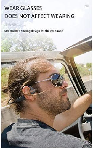 Gazechimp Trekz Air Open-Ear Wireless Bone Conduction Headphones with Portable Storage Case, Slate Grey