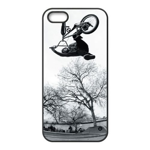 Joe Rich Bmx iPhone 5 5S Handyfall hülle schwarz Handy Fallabdeckung EOKXLLNCD24835