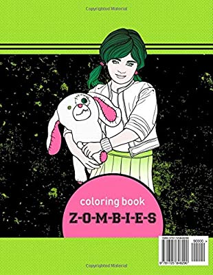 Z O M B I E S Coloring Book 60 Premium Quality Images Amazon Ca Lite Neo Books