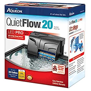Aqueon QuietFlow LED PRO Aquarium Power Filters 18