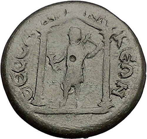 JULIA DOMNA 193AD Thessalonica Macedonia KABEIROS Cult Temple Roman coin i57529 by Authentic Ancient Greek Roman...