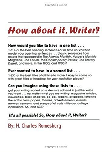 com how about it writer charles  how about it writer