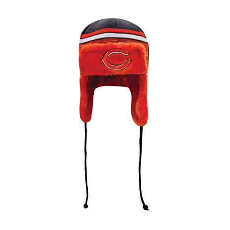 c89efa215 Amazon.com : New Era Chicago Bears Word Trapper Knit Hat : Sports ...
