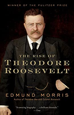 The Rise of Theodore Roosevelt book cover