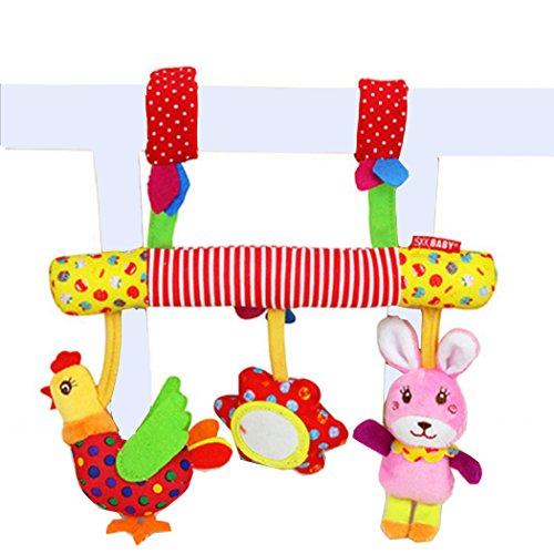Red Baby Stroller - 7