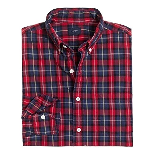 J. Crew Tall washed shirt plaid (Large) from J.Crew