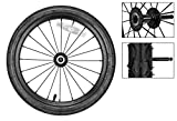 Sunlite Trailer Sunlite Replacement Wheel 16 Stl 2013 Qr Pin Axel Bk F/98208