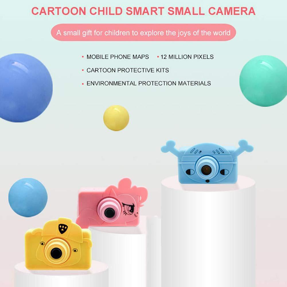 telisii 1080P HD Children's Camera-2 inch Color Screen Anti-Shake Children's Camera,Maximum Memory Children's Camera,Mini Kids Digital Camera by telisii (Image #6)