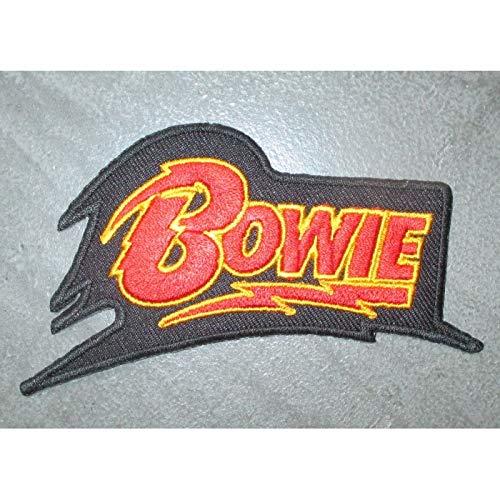 hotrodspirit David Bowie Logo Patch 10.5 cm Patch Rock Roll Pop Singer