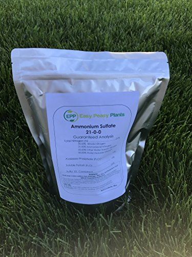 Ammonium Sulfate 21-0-0-24S Easy Peasy Plants Ammonium Su...