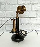 Antique Replica Working Rotary dial Candlestick Telephone Decorative & Gift Item