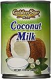 Golden Star Coconut Milk, 13.5 Ounce (Pack of 24)