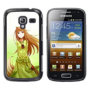 Exotic-Star ( Cute Japanese Anime Princess ) Fundas Cover Cubre Hard Case Cover para Samsung Galaxy Ace 2 I8160 / Ace2 II XS7560M