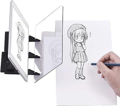 Sarplle DIY Bloque de Dibujo Óptico Tablero de Dibujo Dibujar ...