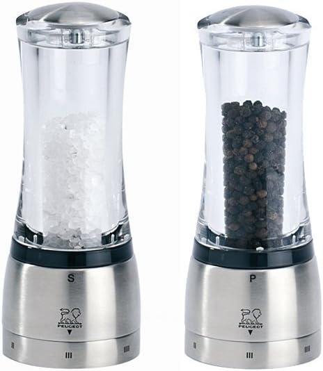 Peugeot Daman 6.5 Time sale inch Acrylic Salt U Select Pepper - Set Reservation Mill