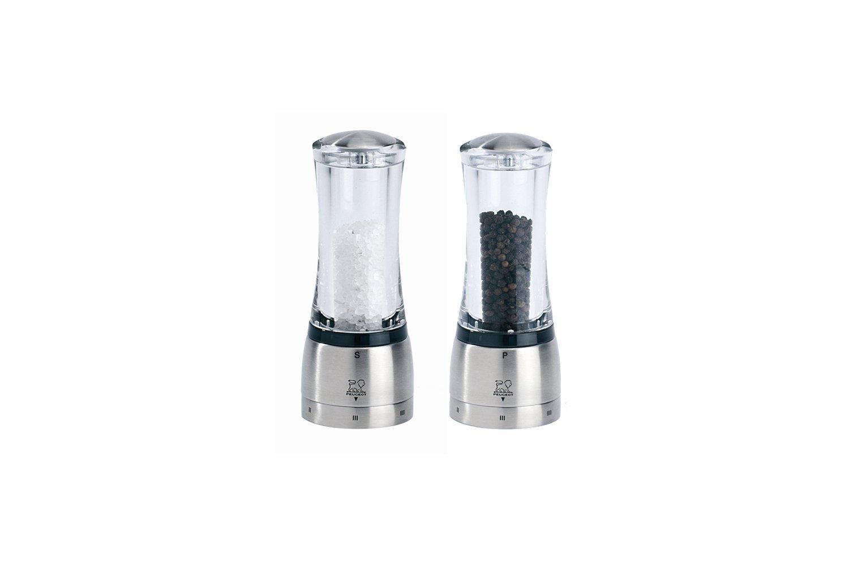 Peugeot Daman 6.5 inch Acrylic Salt/Pepper Mill Set - U Select