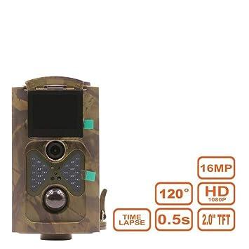 Wildlife Trail Camera Scout Guard Cámara de Caza 1080P 16MP 120 Grados Ángulo PIR Sensor Trampas