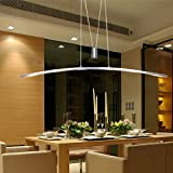 Pendant Light,FOSHAN MINGZE 27W Modern LED Ceiling Light Fixture Aluminum Finished Metal Chandelier for Kitchen/Dining Room/Office/Bar/Living Room