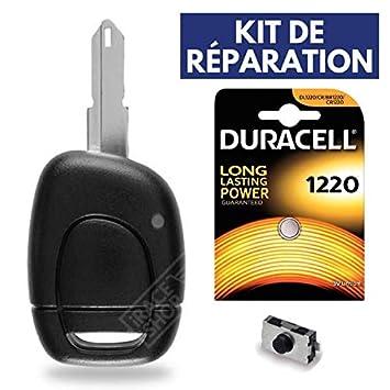 Carcasa llave caja Plip mando a distancia Renault Clio 2 ...