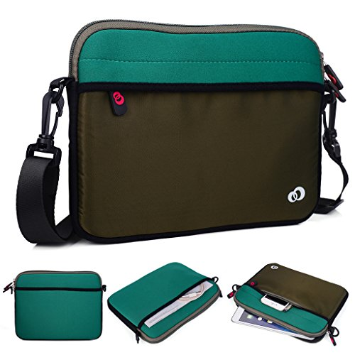 Kroo Tablet/Laptop Hülle Sleeve Case mit Schultergurt für Acer Iconia One 8 B1
