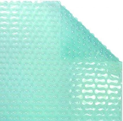WikiCover GeoBubble Sol-Guard Cobertor Solar térmico para Piscina Traslúcido 800x400x0.6 cm